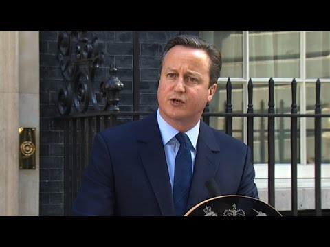 British PM David Cameron resigns after Brexit vote