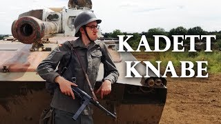 Cadet Knabe in his military training