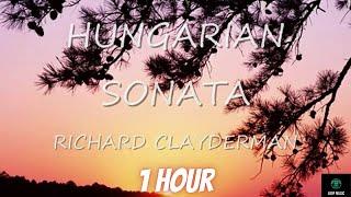 Beautiful Relaxing Music Hungarian sonata By Richard Clayderman | 1hour |