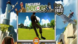 Battlefield Heroes NEW TRAILER + download MP3 link and lyrics