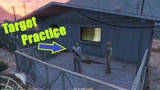 GTA V Story Mode#15 Target Practice By GameOn2704