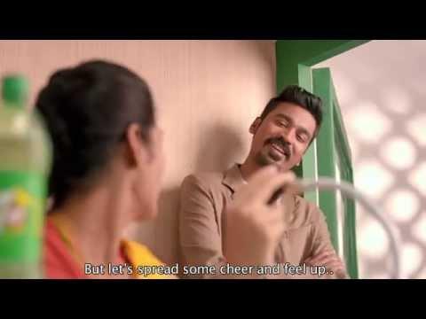7UP Upstarters Dhanush Tamil TVC  Railway Announcer English Subtitles