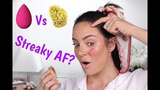 $30 Beauty Blender versus $10 Sea Sponge! Will It Work?
