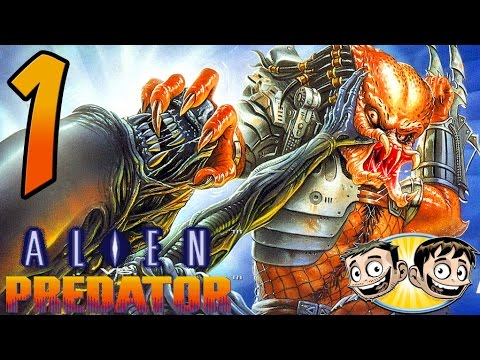 Alien Vs. Predator Arcade Game - PART 1 - Authentic Redneck Commentary - BroBrahs