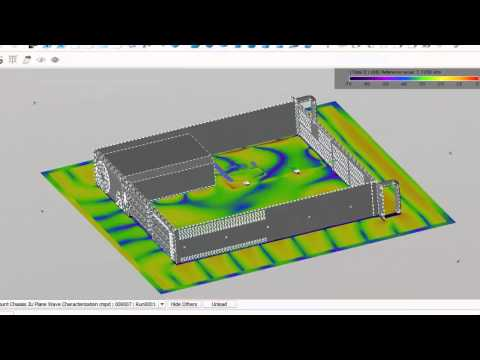 EMC & EMI Analysis of a PCB Enclosed in a Metal Chassis Using EMPro