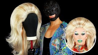 WIG TRANSFORMATION W/ MR VILLBERG - Big Blonde Wig Tutorial