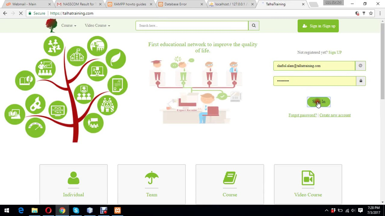 Day 30 - Create Codeigniter Ecommerce Project: View Category from Front End