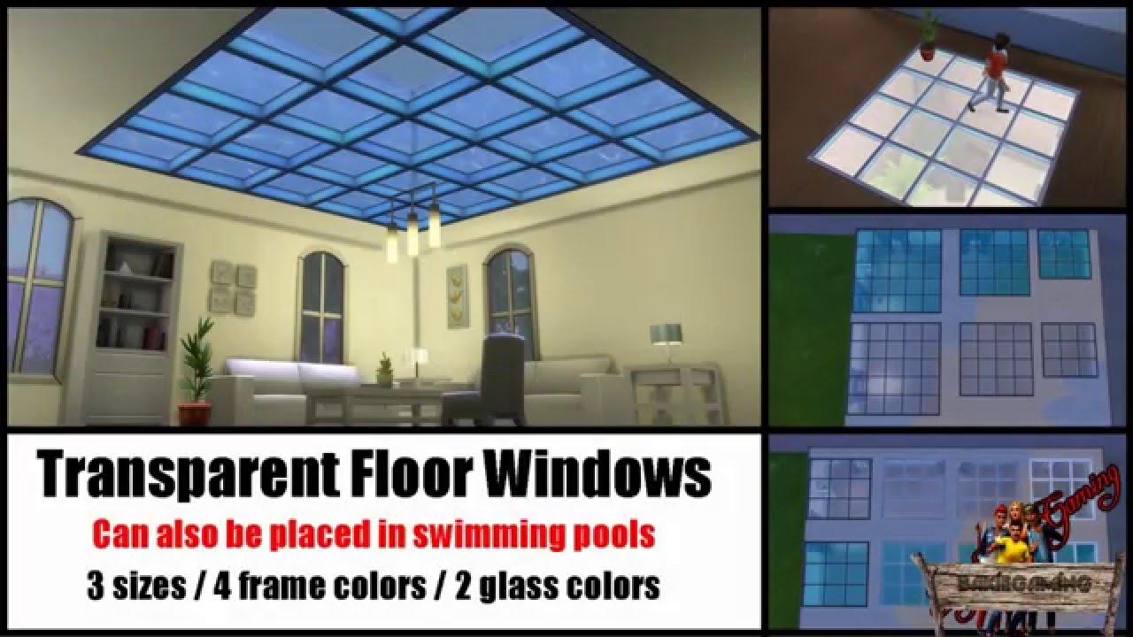 Bakies The Sims 4 Custom Content Transparent Floor
