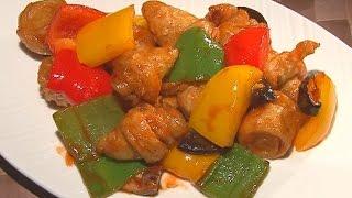 (現代心素派)  - 香積料理 - 糖醋麵腸 - 在地好美味 - 媽媽種的菜