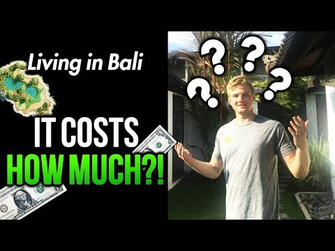 My Monthly Expenses While Living In Bali - Digital Nomad