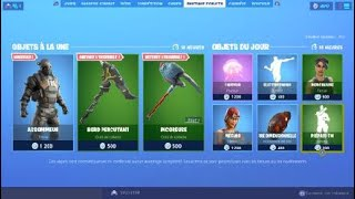 Fortnite shop on Tuesday, August 3 (new skin !!!)