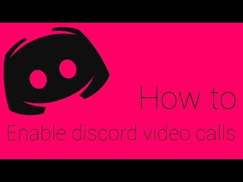 8/10/2017 | How to enable Discord video call/screensharing without being in  the test