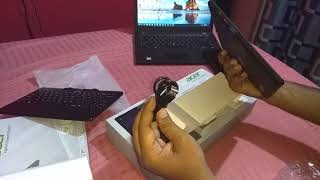 Unboxing cheapest windows tablet Acer one SW110 ICT 2 in 1 tablet