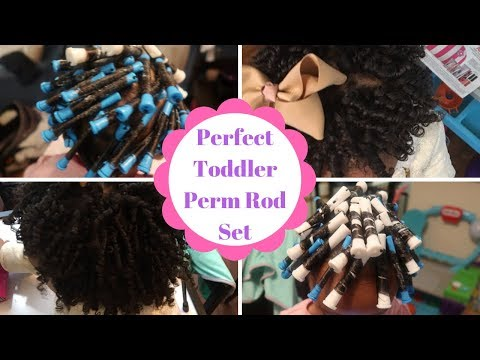 Perfect Perm Rod Set on Toddlers | Natural Hairstyles for Kids