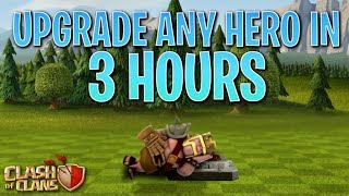 UPGRADE ANY HERO in 3 HOURS or LESS! Fix that Engineer ep37 | Clash of Clans