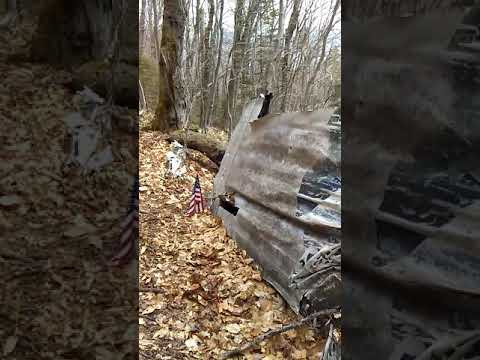 B-18 bomber crash site Mount Waternomee New Hampshire