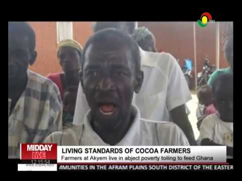 MIDDAY LIVE - Living standards of cocoa farmers - 18/4/2018
