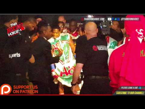 "TBV Behind the Scenes : The ""Can Man"" Adrien Broners Ring Entrance Broner vs  Garcia"