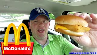 Reed Reviews McDonald's Filet-O-Fish