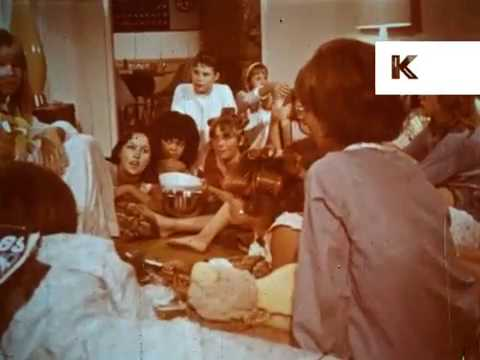 1960s Teenage Girls Sleepover, Slumber Party