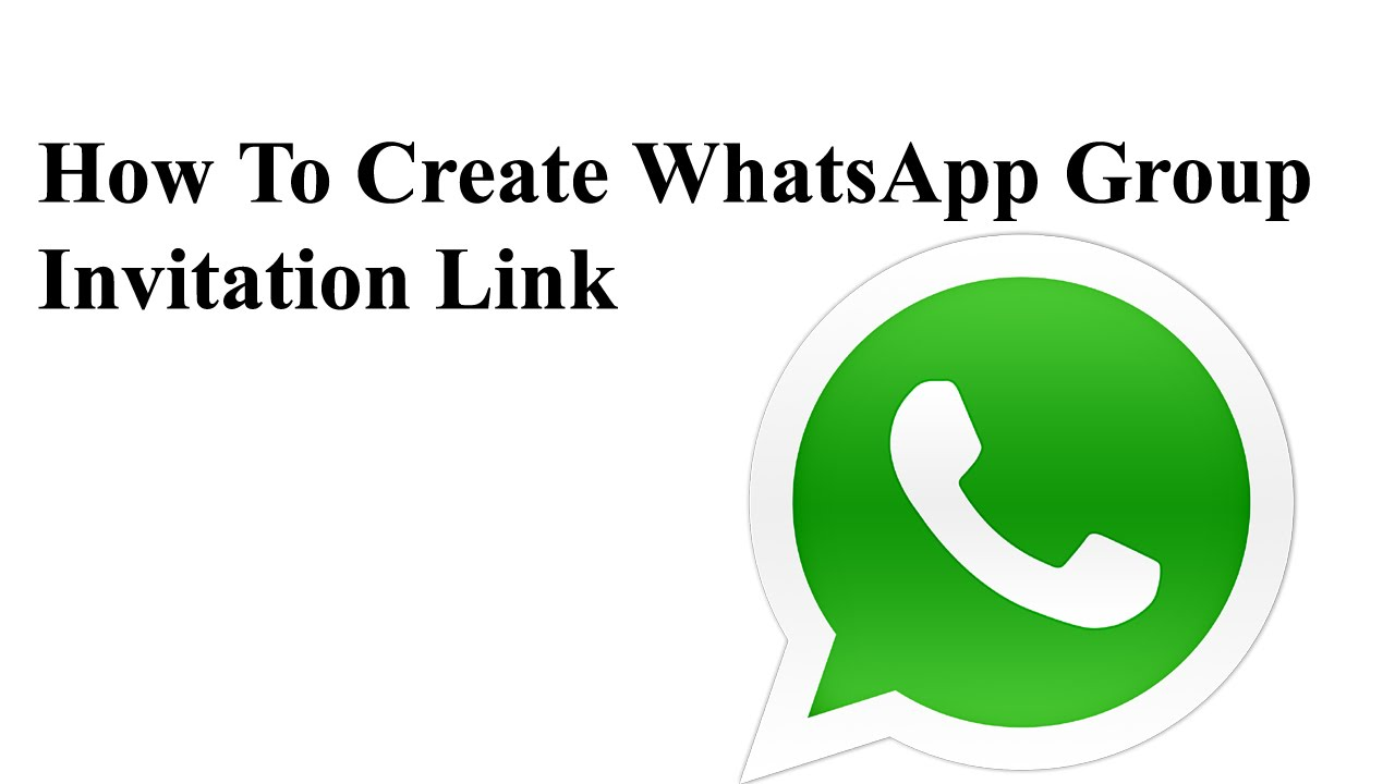 How To Create Whatsapp Group Invite Link YouTube