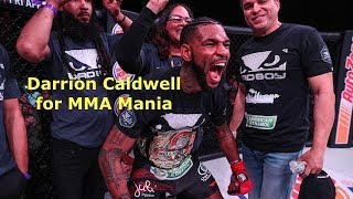 Darrion Caldwell Interview Before Noad Lahat at Bellator 204
