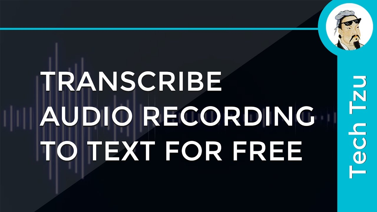 program that transcribes audio to text free