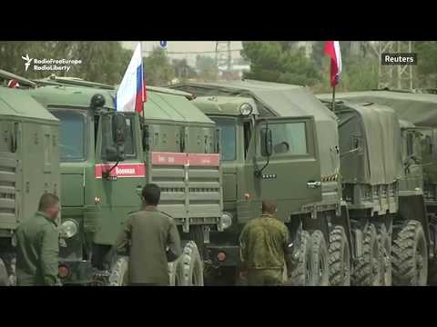Russian Military Police Deployed For Syria's Douma