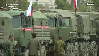 Russian Military Police Deployed For Syria