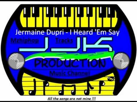 Jermaine Dupri  I Heard Em Say