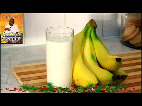 friday-morning-breakfast-natural-yogurt-ripe-banana-smoothie- -recipes-by-chef-ricardo
