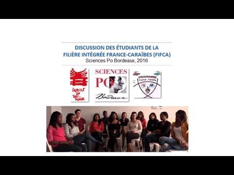 Étudiants FIFCA (Sciences Po Bordeaux, 2016)
