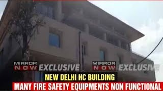 Delhi High Court's new building fails fire safety checks