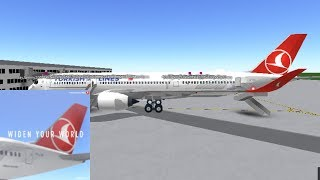 BUSINESS | Turkish Airlines - A350 | ROBLOX