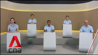 GE2020: WP candidates for East Coast GRC speak in Constituency Political Broadcast, Jul 4