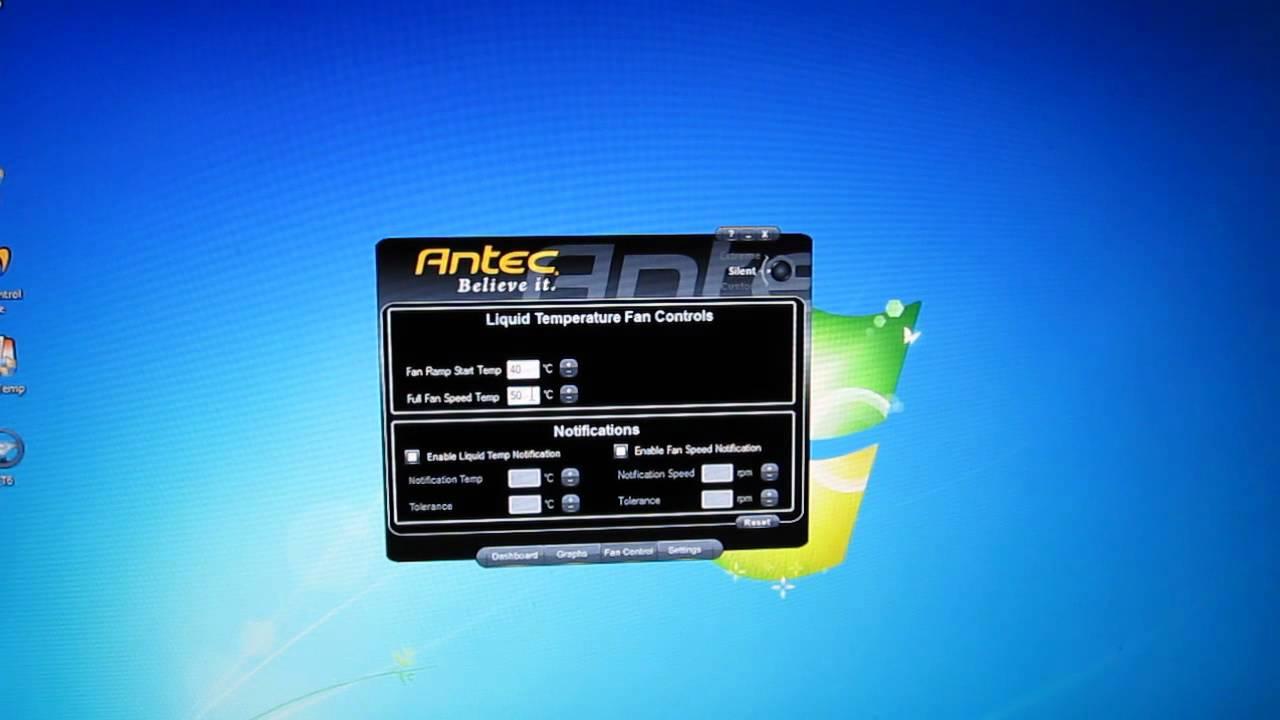 antec kuhler h2o 920 software