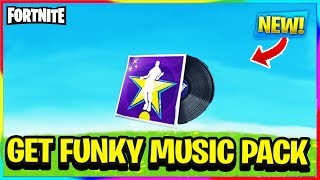"'NEW' FORTNITE ""GET FUNKY"" MUSIC PACK FULL SONG! Fortnite Battle Royale v8.50 Fuites"