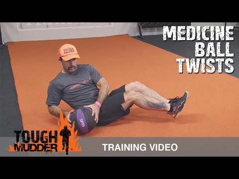 Russian Twist Variation: How To Do a Medicine Ball Twists | Tough Mudder Training