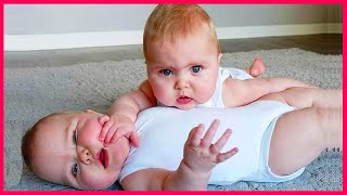 Cutest Twins Ever ❤️Awesome Twin Babies Playing Together| Twin Babies Video