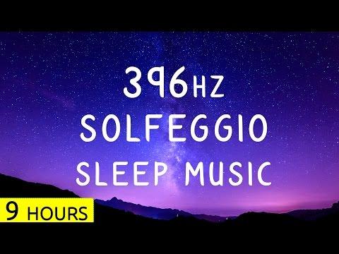 396Hz - Overcome Guilt & Fear - Solfeggio Sleep Music | Deep Sleep Healing Music
