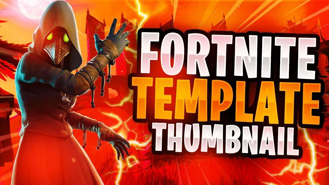 New Fortnite Halloween Skins 2018 Thumbnail Template New Fortnite