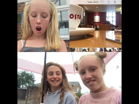 WE WERE DRENCHED AND RAN IT // GETTING MY HAIR CUT XX