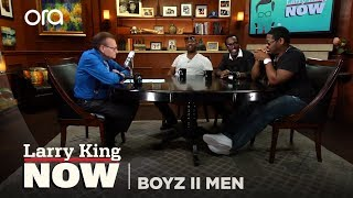 """Boyz II Men on """"Larry King Now"""" - Full Episode Available in the U.S. on Ora.TV"""