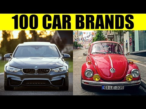 FAMOUS CAR BRANDS - 100 Best Car Brands of the World