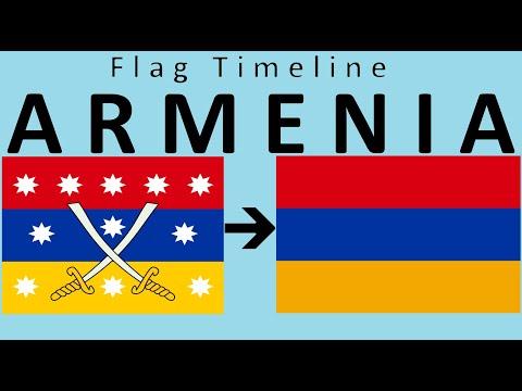 Флаг Армении: историческая эволюция (с гимном Армении)