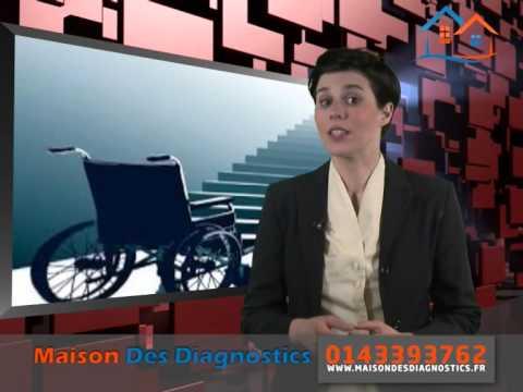 Le diagnostic Accessibilité handicapé par Maisons Des Diagnostics