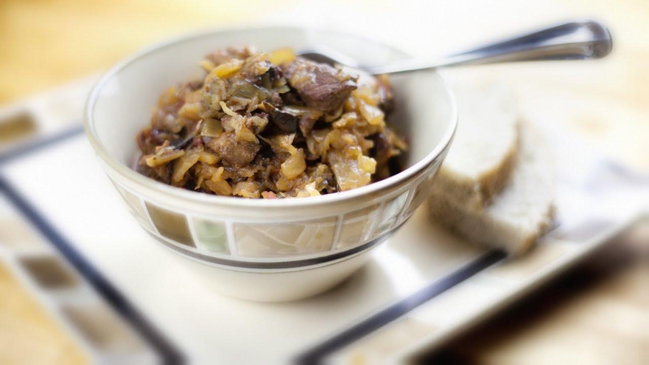 Hunters stew bigos anias polish food recipe 26 youtube youtube premium forumfinder Choice Image