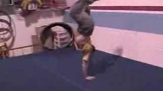 extreme martial arts flip video