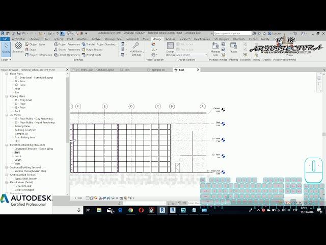 Curso básico de Revit | 09 Relaciones paramétricas en Revit