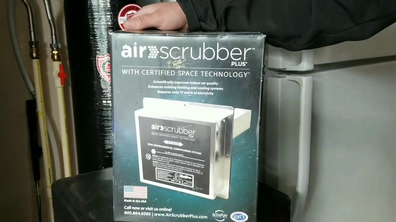 Air Scrubber Install by Chinook Heating & Air - YouTube